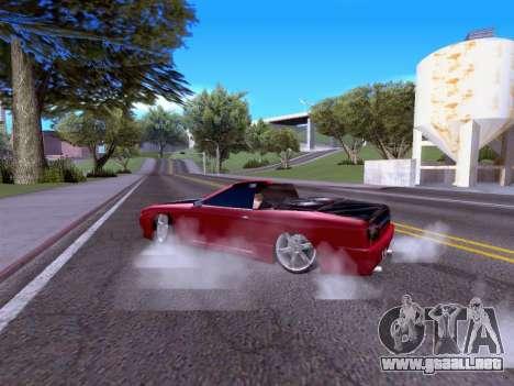 Elegy Cabrio HD para la visión correcta GTA San Andreas