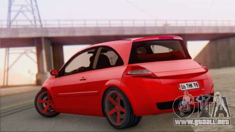 Renault Megane II HatchBack para GTA San Andreas left