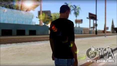 Max Cavalera T-Shirt v2 para GTA San Andreas segunda pantalla