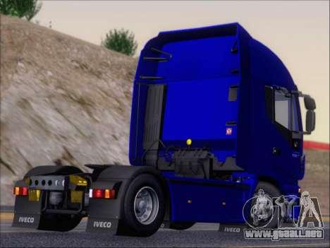 Iveco Stralis HiWay 560 e6 4x2 para GTA San Andreas vista hacia atrás