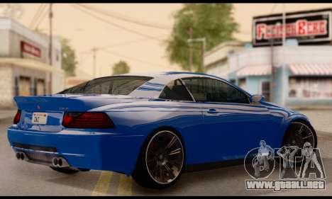Ubermacht Zion XS 1.0 para GTA San Andreas left