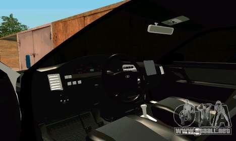 VAZ 21123 Turbo para visión interna GTA San Andreas