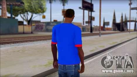 Superman T-Shirt v1 para GTA San Andreas segunda pantalla