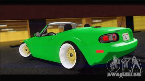 Mazda MX-5 2010 para GTA San Andreas left