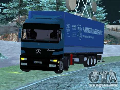 Mercedes-Benz Actros 1840 para GTA San Andreas left