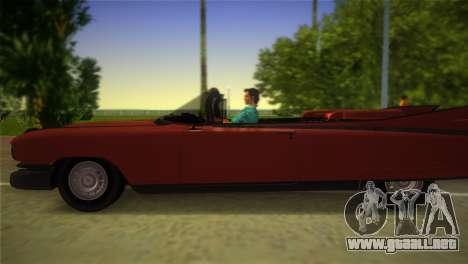 Cadillac Eldorado para GTA Vice City visión correcta
