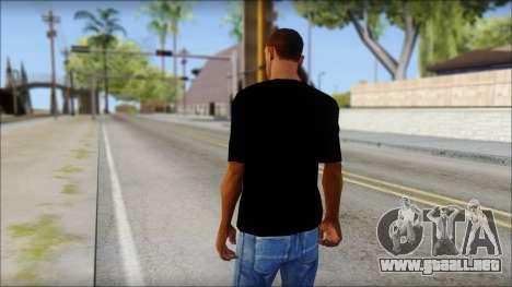 WWE Logo T-Shirt mod v2 para GTA San Andreas segunda pantalla