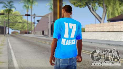 Thai Suckseed T-Shirt para GTA San Andreas segunda pantalla