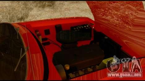 Moskvich U para la vista superior GTA San Andreas