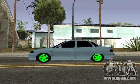 De los FLOREROS 2110 para GTA San Andreas vista posterior izquierda