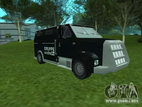 Securicar из GTA 3 para GTA San Andreas left
