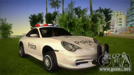 Porsche 911 GT3 Police para GTA Vice City