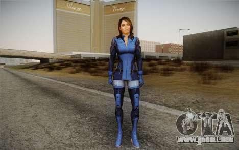 Ashley from Mass Effect 3 para GTA San Andreas