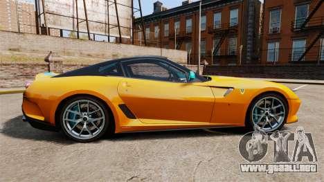 Ferrari 599 GTO PJ2 para GTA 4 left