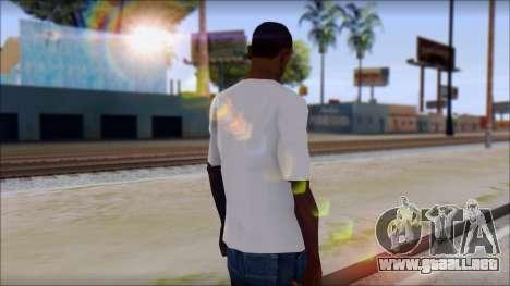 Adio T-Shirt para GTA San Andreas segunda pantalla