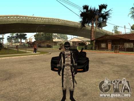 Power Rangers Operation Overdrive para GTA San Andreas quinta pantalla