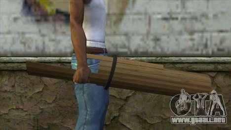 Senjata Kentongan Sahur para GTA San Andreas tercera pantalla