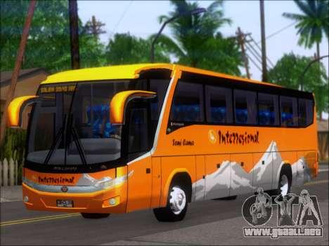 Marcopolo Viaggio 1050 G7 Buses Interregional para GTA San Andreas left