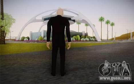 Slenderman para GTA San Andreas segunda pantalla