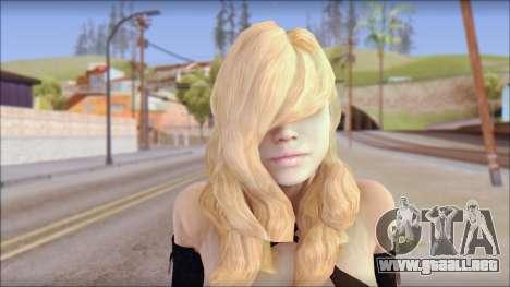 Rachel from Resident Evil Revelations para GTA San Andreas tercera pantalla