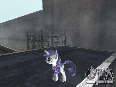 Rarity para GTA San Andreas segunda pantalla