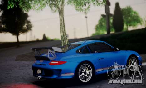 Porsche 911 GT3 RS4.0 2011 para GTA San Andreas left