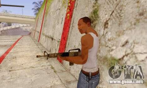 Cutscene M16 from Stowaway Conversion para GTA San Andreas segunda pantalla
