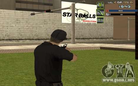 C-HUD by SampHack v.5 para GTA San Andreas tercera pantalla