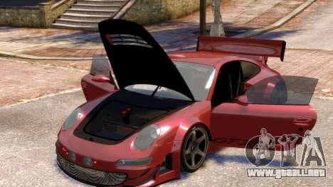 Porsche 911 GT3RSR para GTA 4 vista interior
