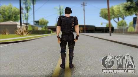 Barney Ross para GTA San Andreas segunda pantalla