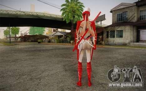 Hibana from Nigthshade of Shinobi para GTA San Andreas