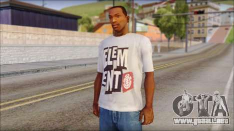 Element T-Shirt para GTA San Andreas