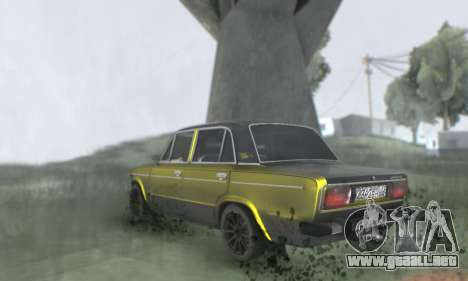 VAZ 2106 para GTA San Andreas interior