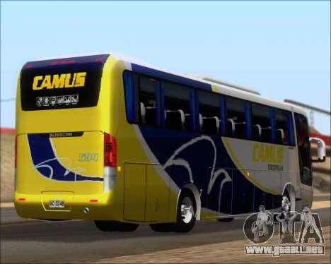 Busscar Vissta Buss LO Mercedes Benz 0-500RS para vista inferior GTA San Andreas