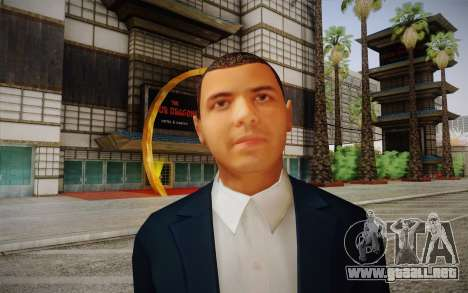 Vicente Zambada para GTA San Andreas tercera pantalla