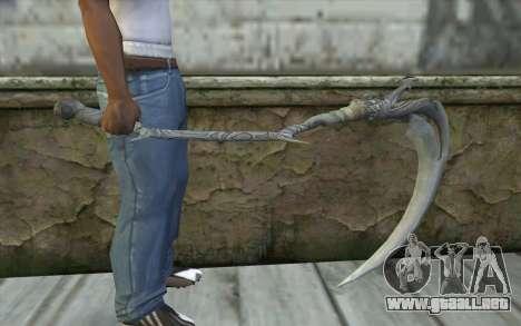 Orisis from DmC: Devil May Cry para GTA San Andreas tercera pantalla