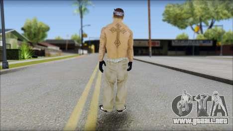 OG Chicano Skin para GTA San Andreas segunda pantalla