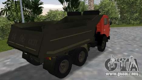 KamAZ 5511 para GTA Vice City left