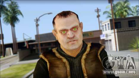 BarMan of 100 X-Ray para GTA San Andreas