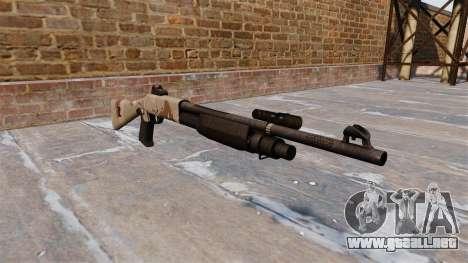 Ружье Benelli M3 Super 90 choco para GTA 4