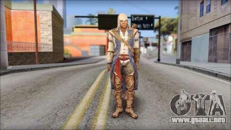 Connor Kenway Assassin Creed III v2 para GTA San Andreas