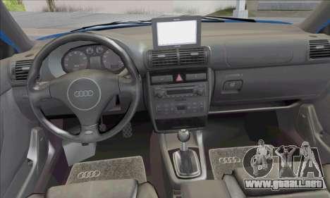 Audi A3 1999 para visión interna GTA San Andreas