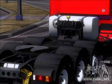 Iveco Stralis HiWay 560 E6 8x4 para la vista superior GTA San Andreas