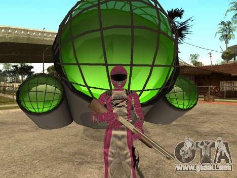 Power Rangers Operation Overdrive para GTA San Andreas décimo de pantalla