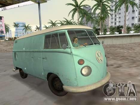 Volkswagen Type 2 T1 Van 1967 para GTA Vice City