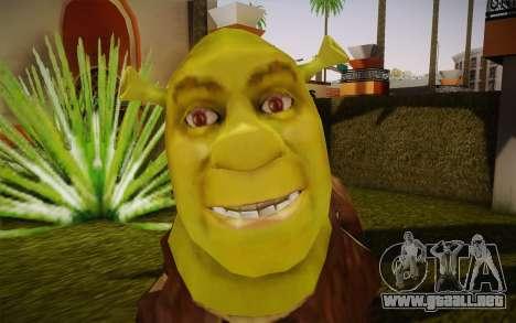 Shrek para GTA San Andreas tercera pantalla