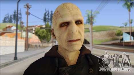 Lord Voldemort para GTA San Andreas tercera pantalla