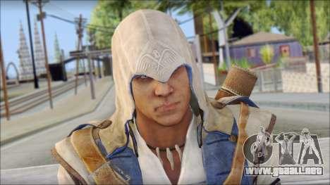 Connor Kenway Assassin Creed III v2 para GTA San Andreas tercera pantalla