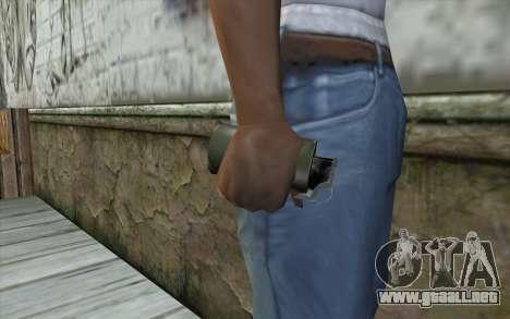 Smoke Grenade para GTA San Andreas tercera pantalla
