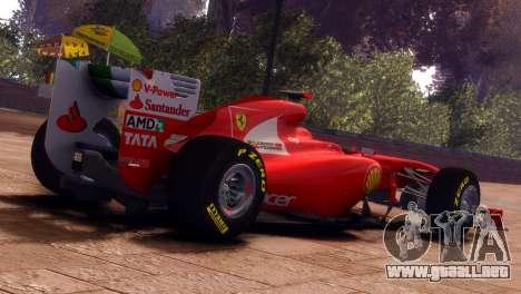Ferrari 150 Italia para GTA 4 left